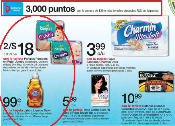 Ahorros Diarios Usando Cupones 3 000 Puntos Walgreens