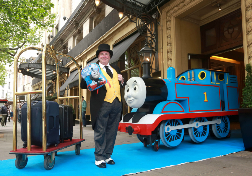 Good There was a huge Thomas engine to get selfies with and of course the Fat Controller was there to oversee the proceedings as he does