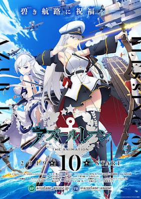 Azur Lane: Adaptação em anime ganha novo PV e data de estreia