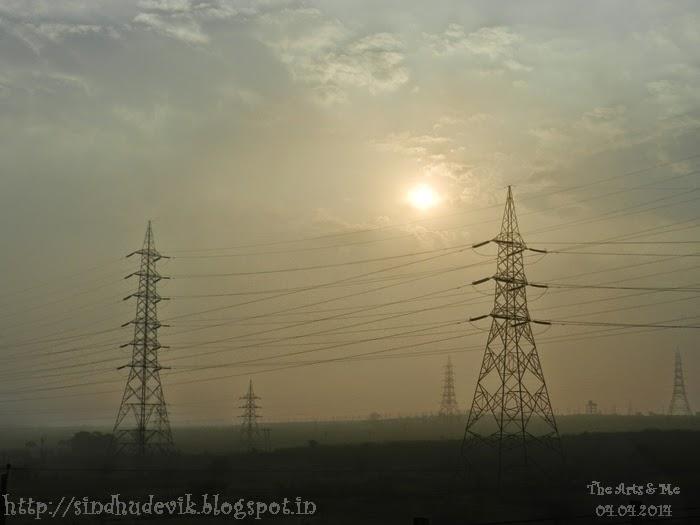 A morning scene @ Belagavi (Belgaum, Karnataka, India)