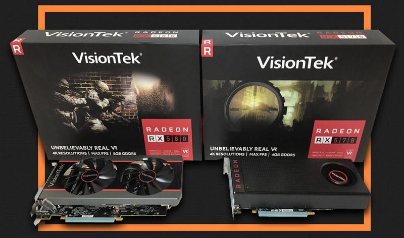 Hypothermia: VisionTek Radeon RX 580 8GB Overclocked Edition