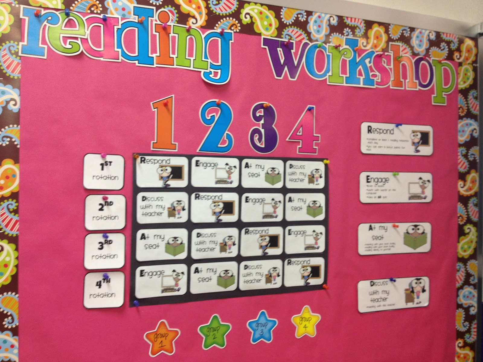 Stickers And Staples Reading Workshop Rotation