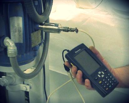 Colector portátil de datos de vibración y otros parámetros para mediciones en rutas programadas para el diagnóstico predictivo.
