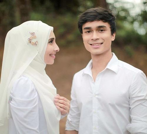 gambar Lufya Omar & Dr Hafiz nikah, gambar pernikahan Lufya Akademi Fantasia, gambar kahwin Lufya AF6, perkahwinan Lufya Omar & Dr Hafiz, suami Lufya Omar Che Muhammad Hafiz Che Baharum