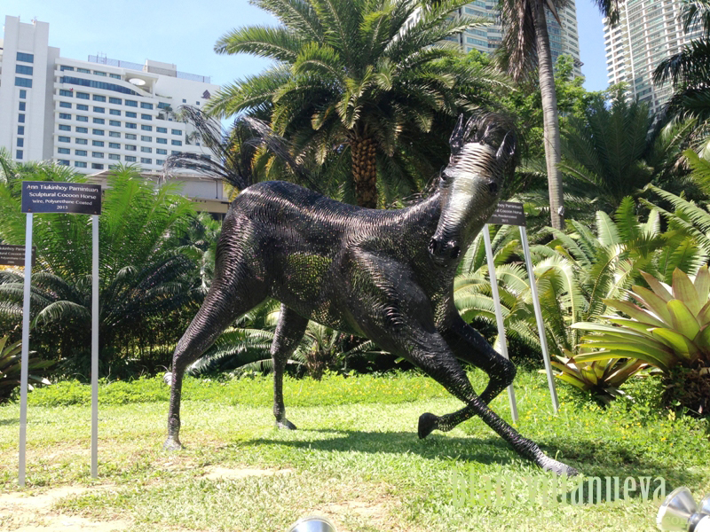 Ann Pamintuan Sculptural Cocoon Horse in Greenbelt, Makati