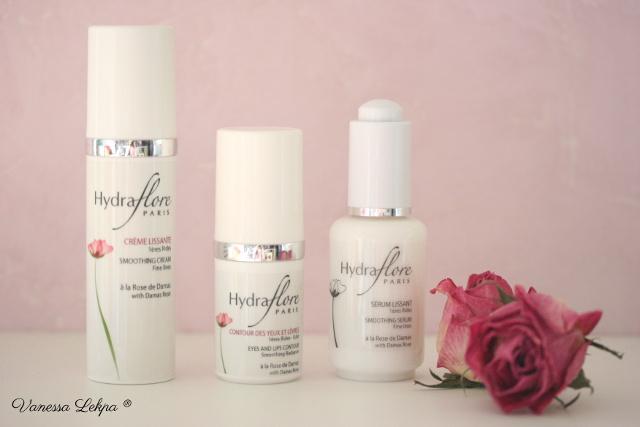 cosmétique bio et français Centella gamme hydraflore à l'huile essentielle de Rose crème anti rides Vanessa Lekpa