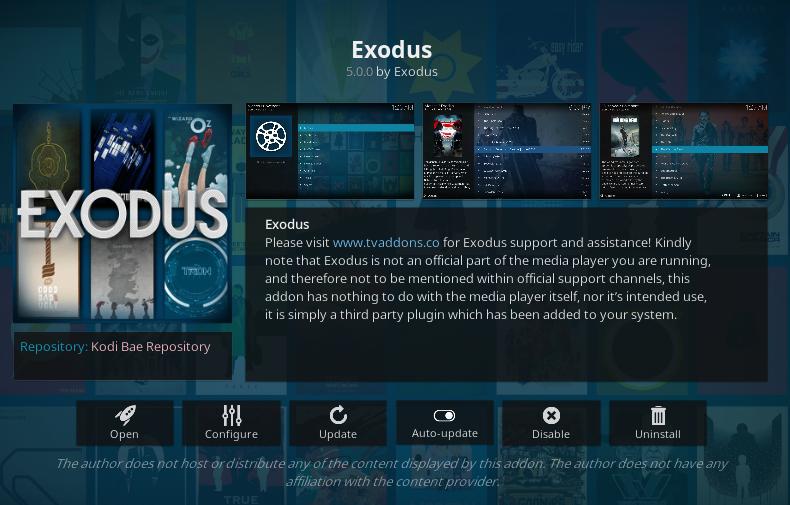 how to add on exodus on kodi