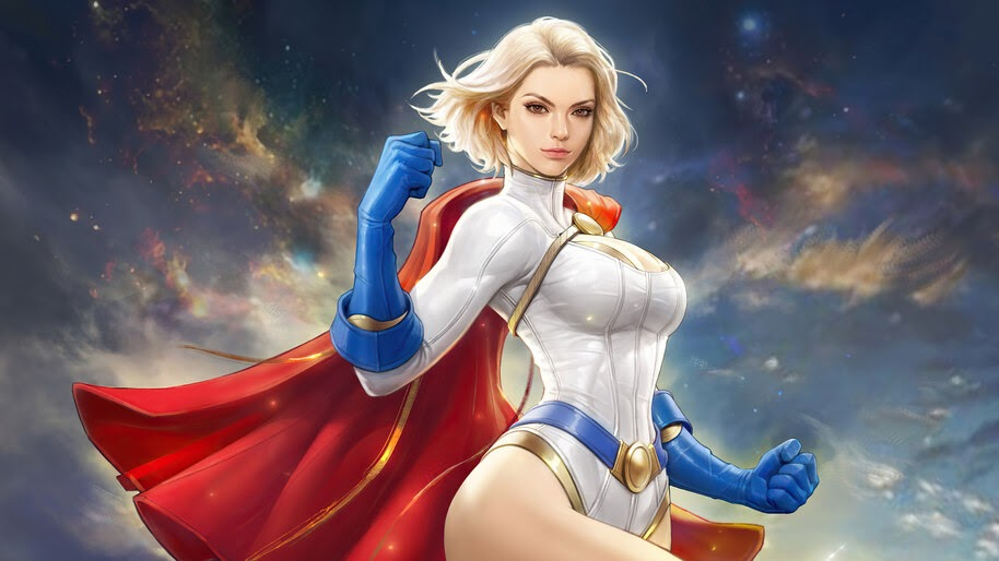 Power Girl, DC, Superhero, 4K, #6.1346