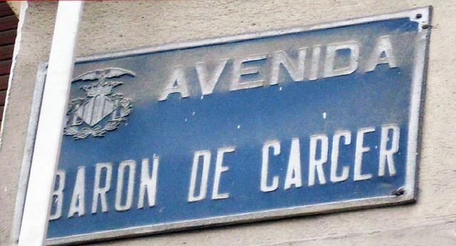 51 calles de València dejarán de tener nombres franquistas