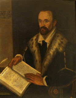 Giacomo Zaberella: a portrait by an unknown artist kept at the Bodleian Libraries in Oxford
