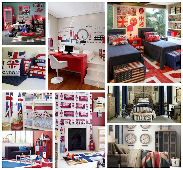 habitaciones infantiles estilo british bedroom kids