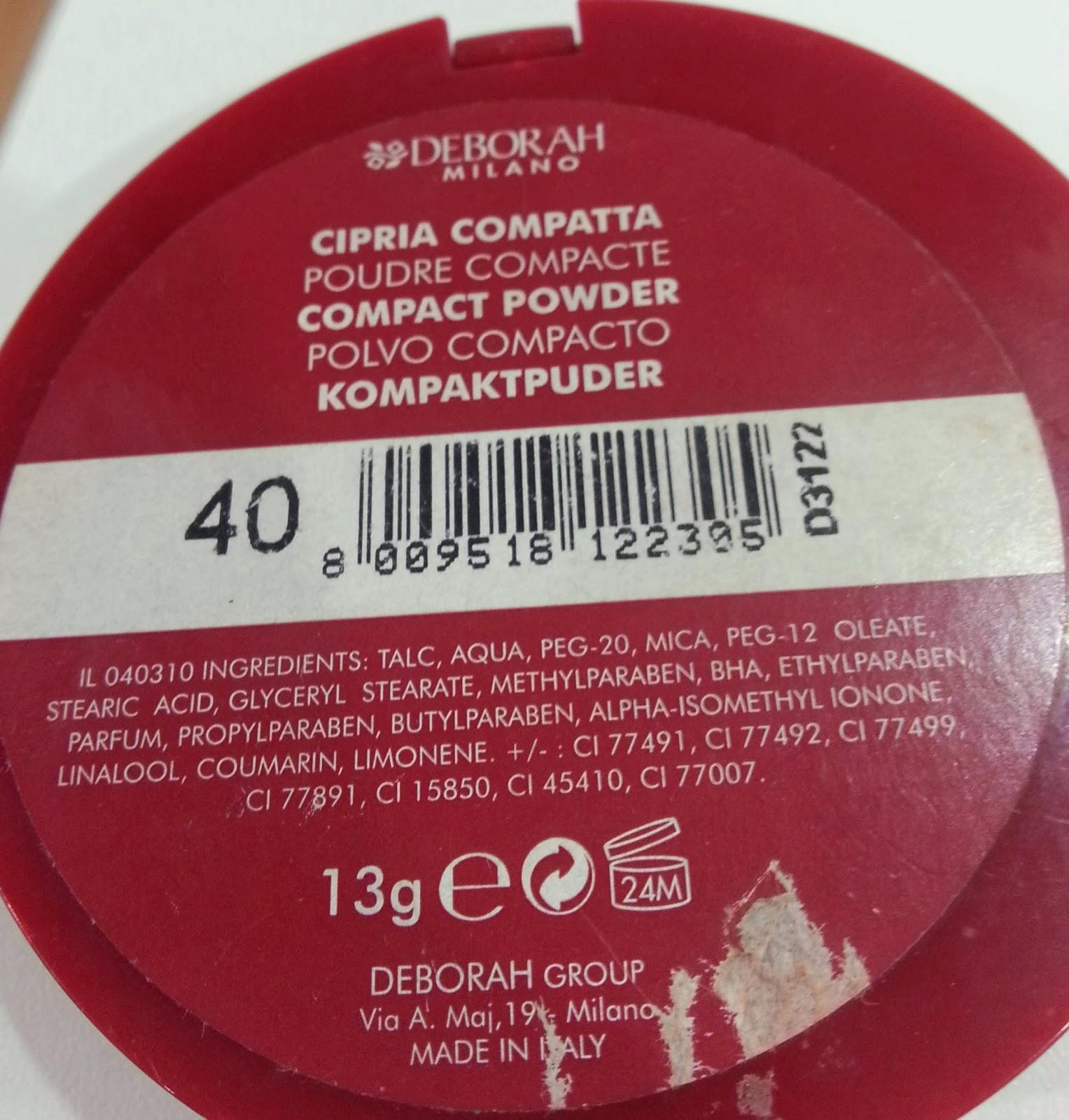 Deborah La Cipria - Compact Powder 40