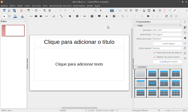 LibreOffice Impress 6.1