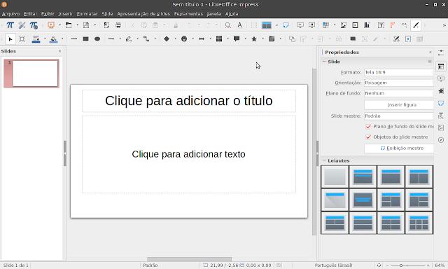 LibreOffice Impress 6.1