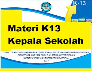 gambar materi k13 kepala sekolah revisi 2018