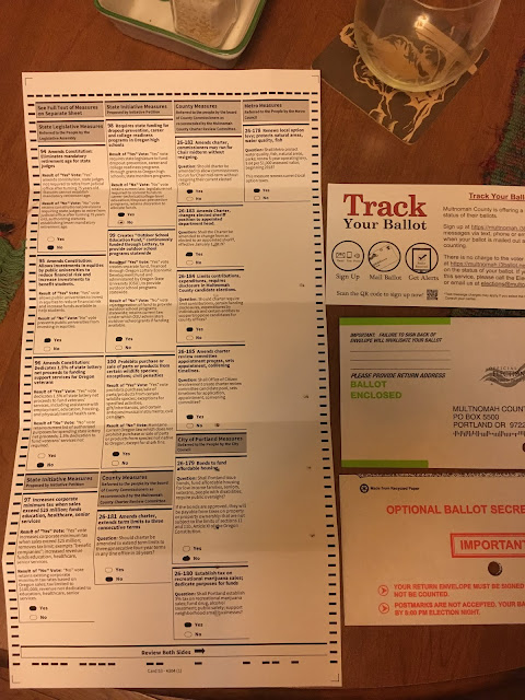 Oregon Ballot November 2016