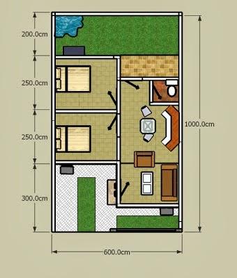 4 desain rumah minimalis type 36 yang sederhana tahun 2014