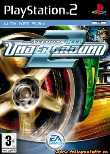Need for Speed Underground 2 (PAL) Playstation 2 Tek Link