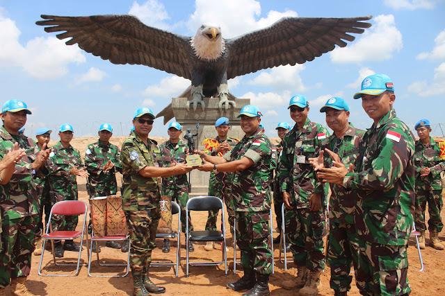 DFC Minusca Bangga kepada Kinerja Prajurit TNI di Afrika