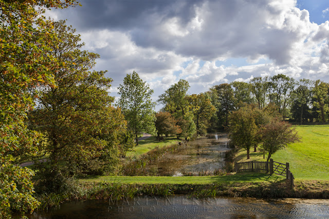 Lyveden New Bield 400 year old moat system in the autumn sunshine