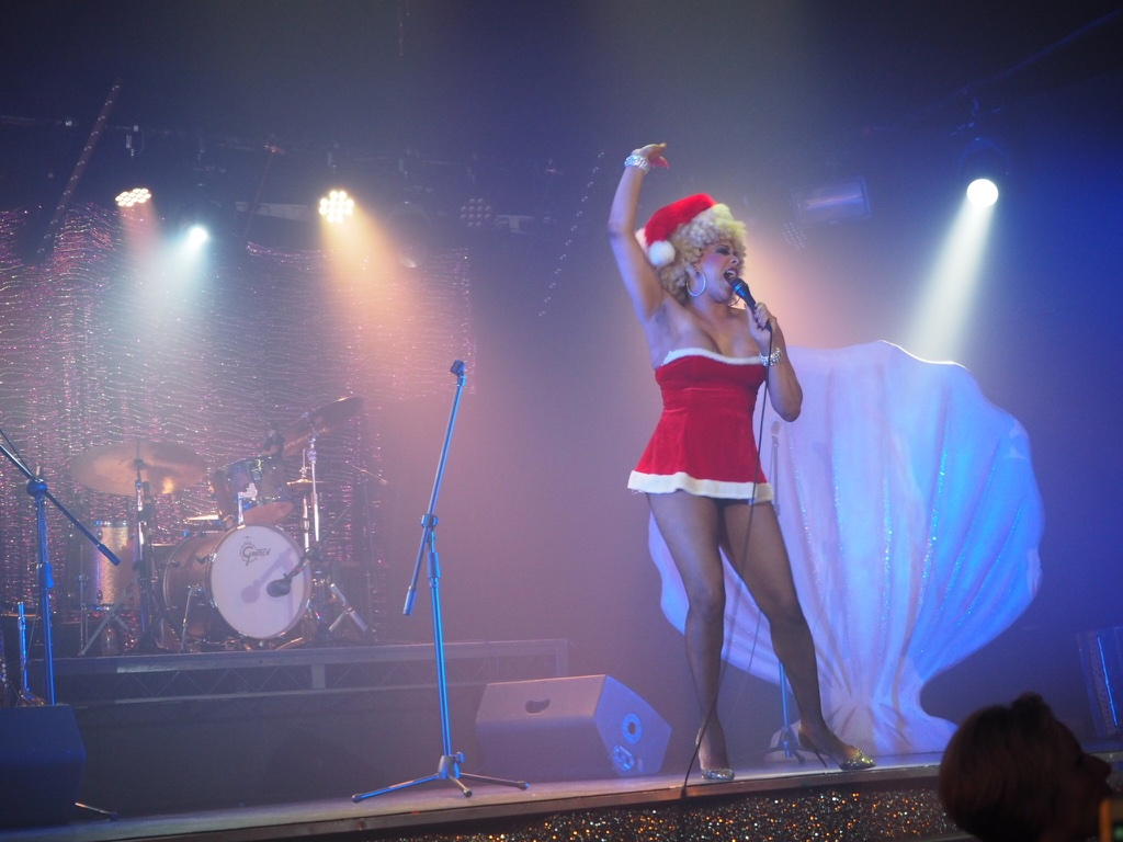 christmas cabaret singer