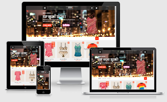 Template Spot Commerce Shopping