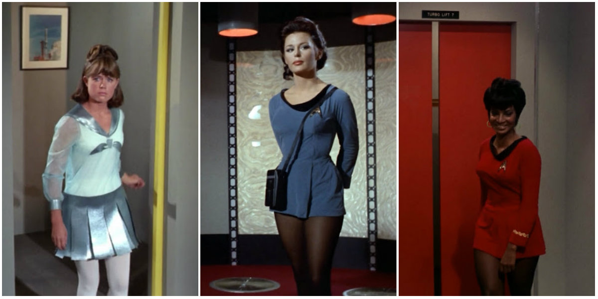 154b3d73d Mini Skirts in 'Star Trek' (1966) ~ vintage everyday