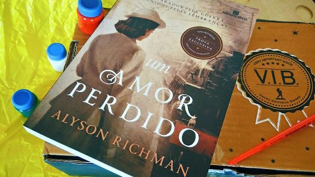 [RESENHA #463] UM AMOR PERDIDO - ALYSON RICHMAN