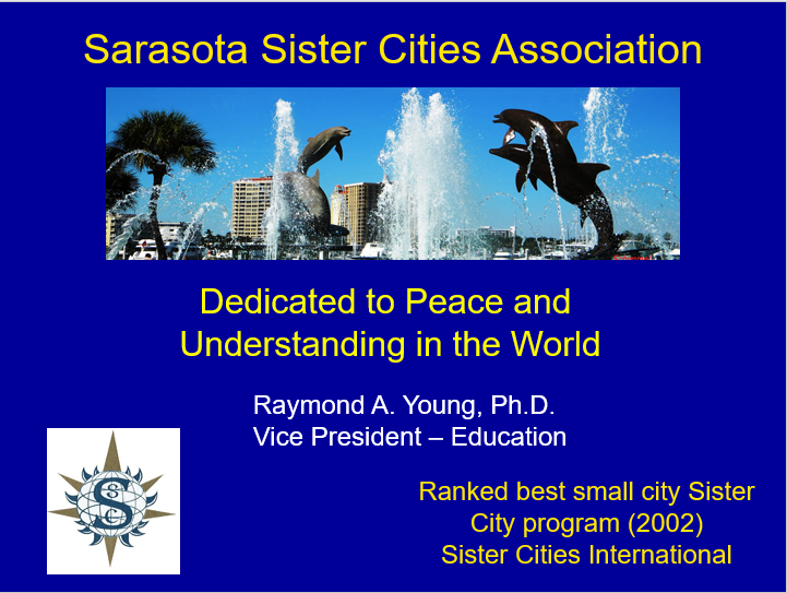 History of Sarasota Sister Cities