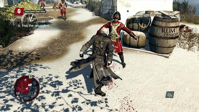 Assassin's Creed: Rogue - Xbox 360 - Captura 3