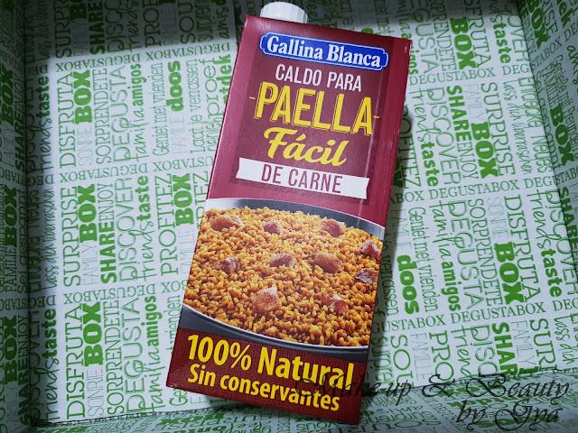 Caldo para paella facil de carne Gallina Blanca Degustabox Abril ´18 - Especial Aniversario