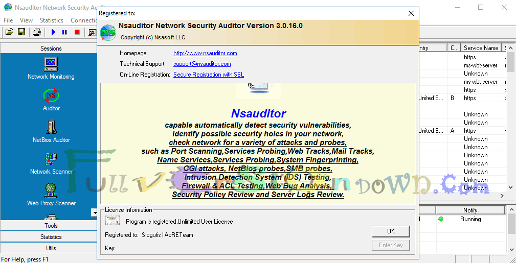 Nsauditor Network Security Auditor Full