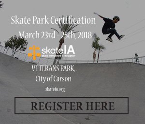 Skate Park Certification