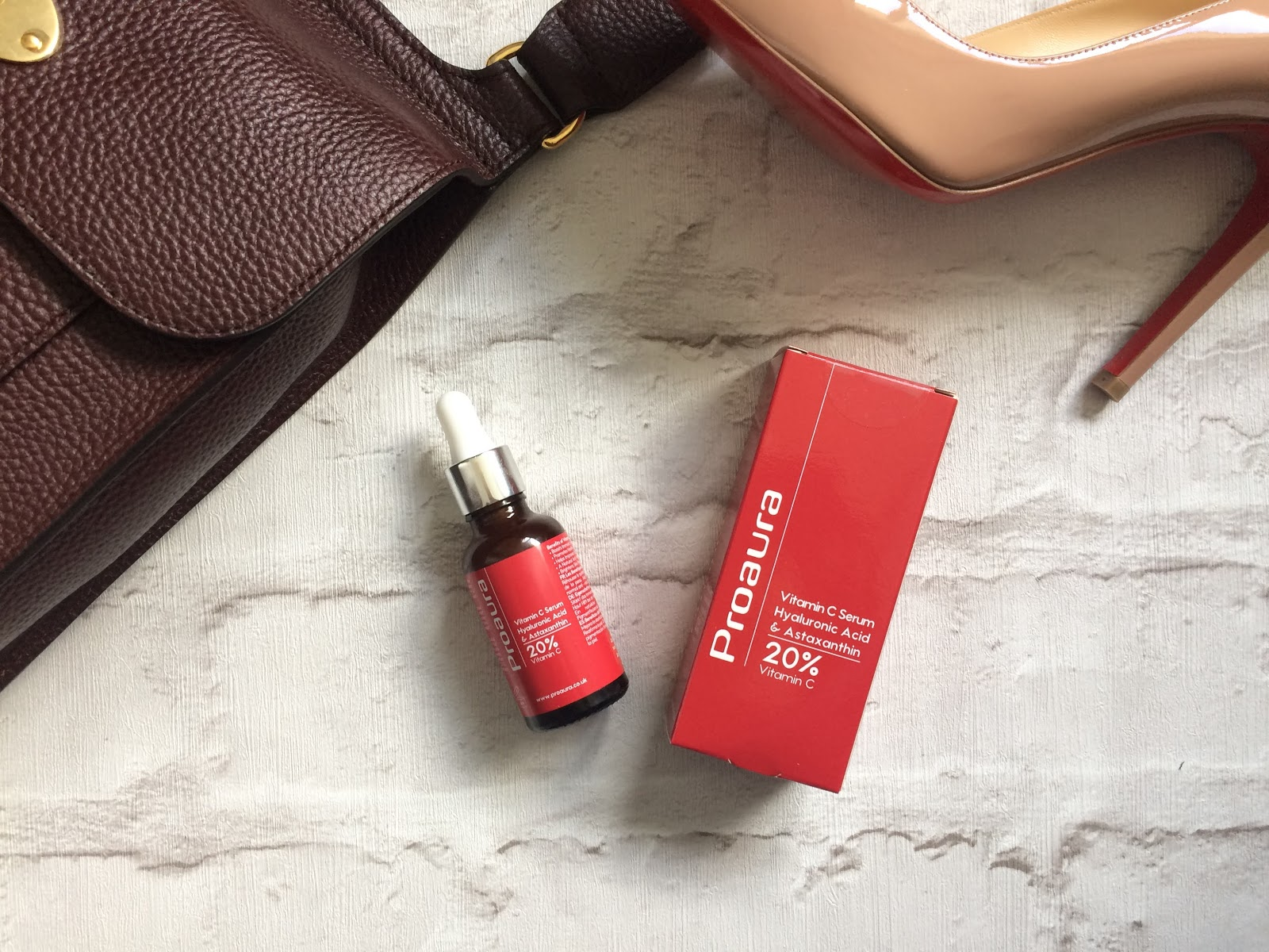 Proaura Vitamin C with Astaxanthin, Mulberry Antony bag in Oxblood Louboutinpiegalle