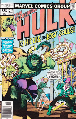 Incredible Hulk #217, the Circus of Crime