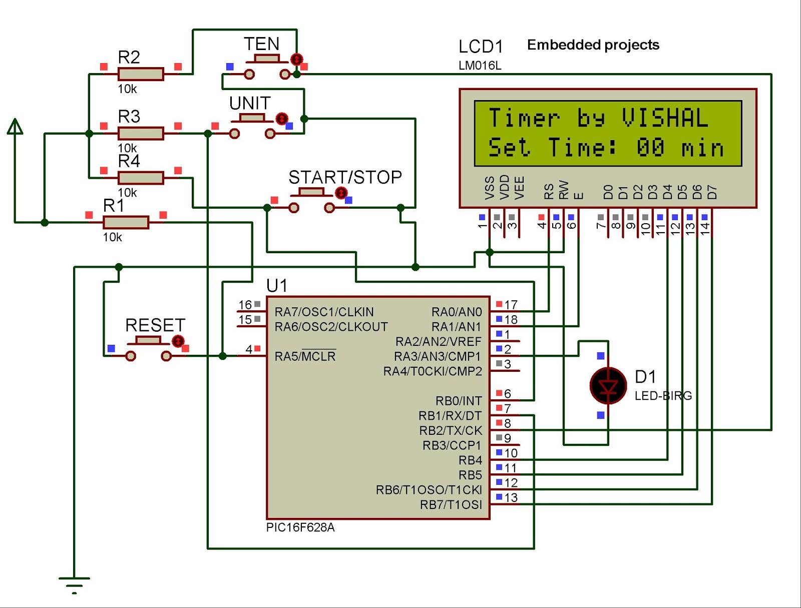 medium resolution of 0 99 counter circuit diagram