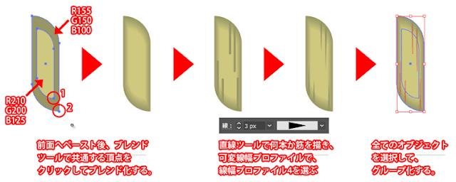 ブラシパーツの作り方3
