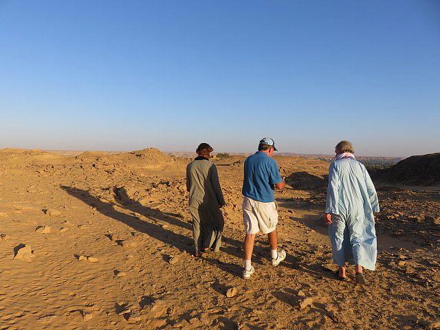 Nour el Nil desert walk