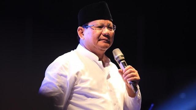 Prabowo: Saya Tidak Ada Niat Mencari Kekayaan