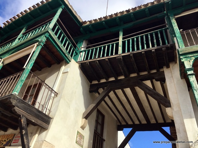 balcones plaza mayor chinchon