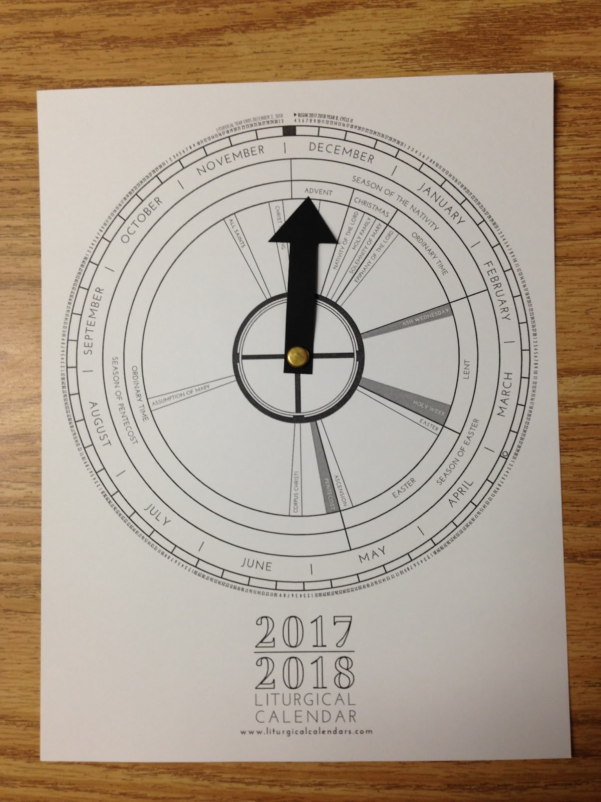 well use the calendar alongside my liturgical year coloring book which you can get in this post
