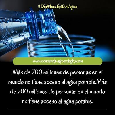 ya no queda mucha agua potable para la humanidad