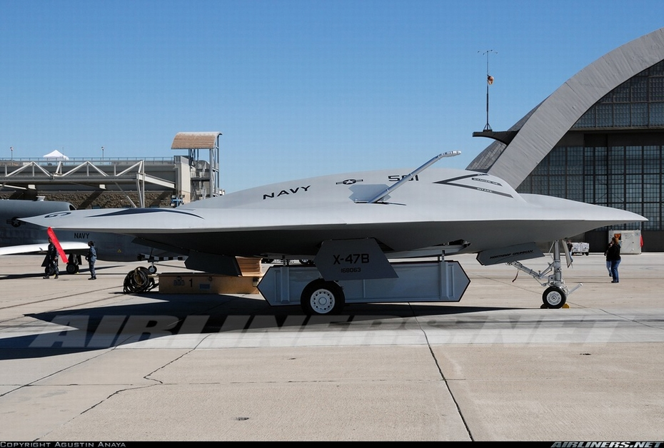 U S Navy S X 47b Carrier Capable Stealth Uav Achieved