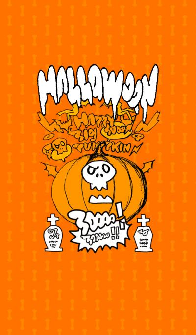 Halloween big pumpkin