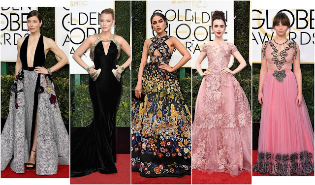 Golden Globes 2017 Best Dressed