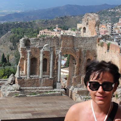 Sicilië - Taormina - Teatro Greco