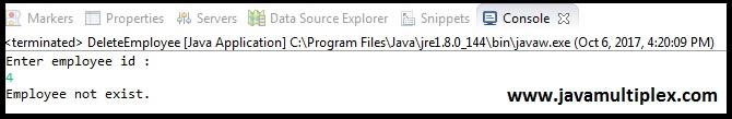 Java XML DOM Parser output part 5 case 1