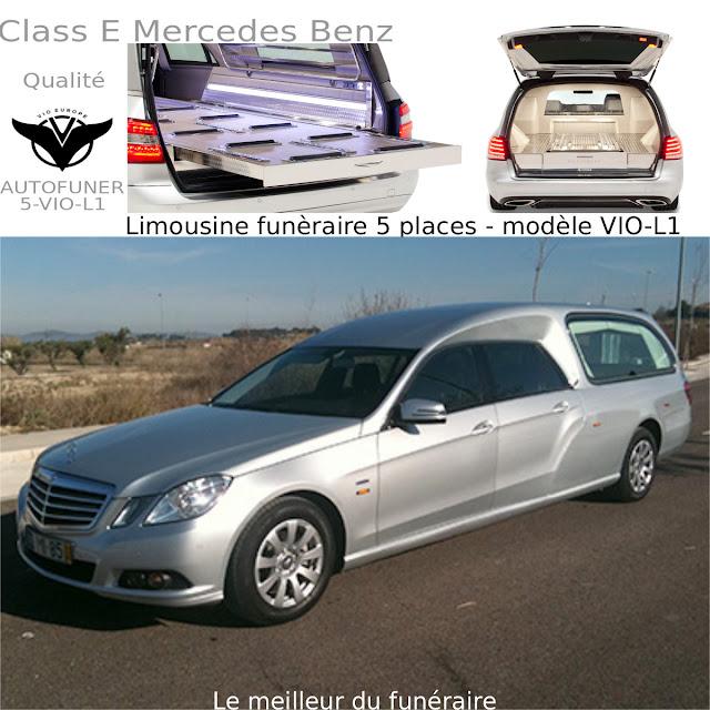 Corbillards et limousine 2 et 5 places