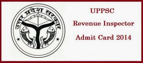UPPSC Revenue Inspector Admit Card 2015