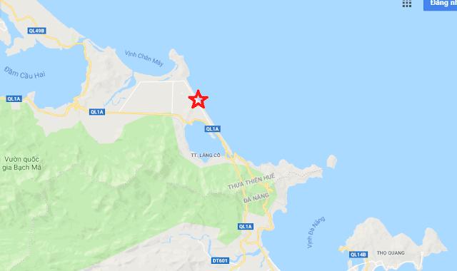Vị trí dự án 6 Miles Coast Resort